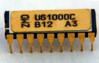 "NRD-owska pamięć DRAM 1 MBit Źródło: {a href=""http://www.robotrontechnik.de""}www.robotrontechnik.de{/a}"