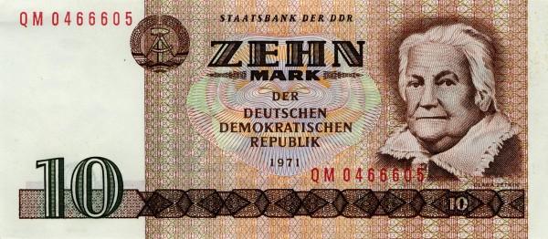 10 marek NRD - awers Źródło: Wikipedia