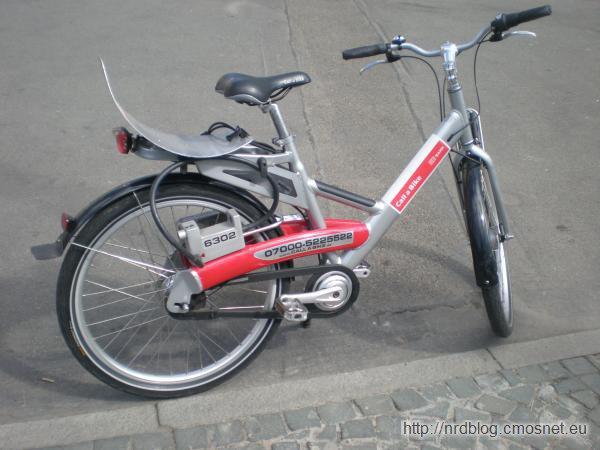 Rowery do wynajęcia Call a Bike