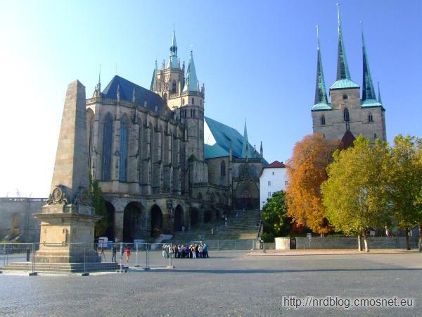 Erfurt - katedra