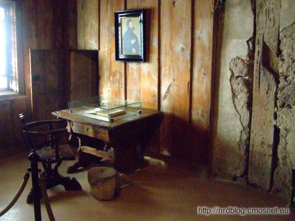 Pokój Lutra na zamku Wartburg
