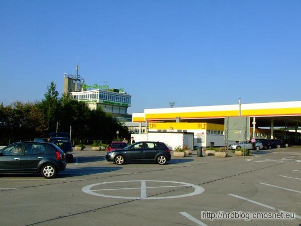 Rasthof Eisenach na miejscu przejścia granicznego Wartha