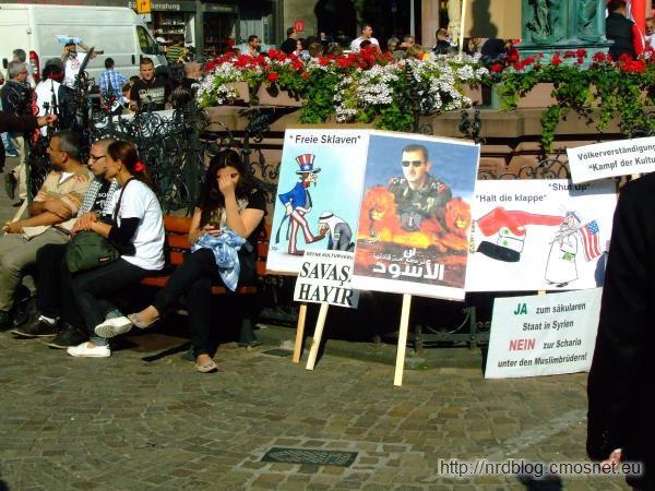Demonstracja w sprawie Syrii