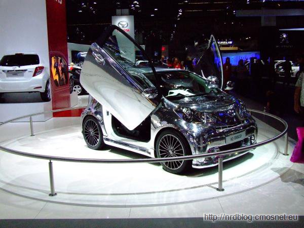 Toyota IQ Discokugel