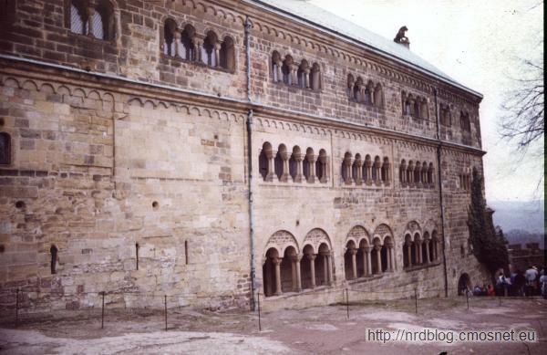 Zamek Wartburg w roku 1988