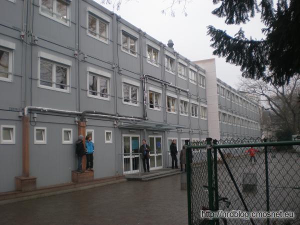 Tymczasowy budynek Carl-Schurz-Gymnasium