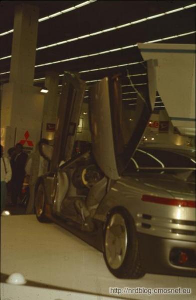 IAA 1987 - Mitsubishi concept car