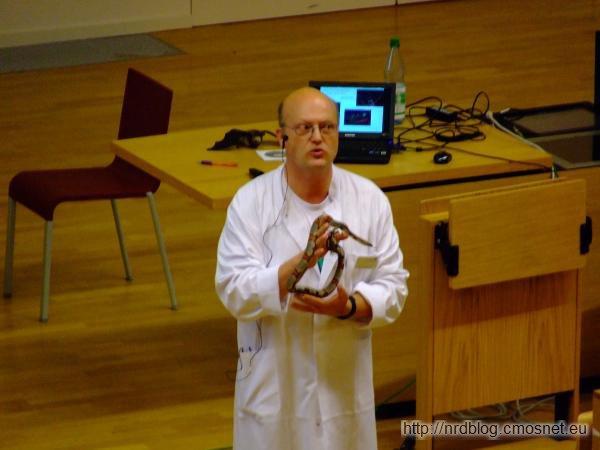 Kinder Uni 2010 - Wąż wypożyczony z zoo