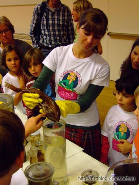Kinder Uni 2010 - Anglerfisch