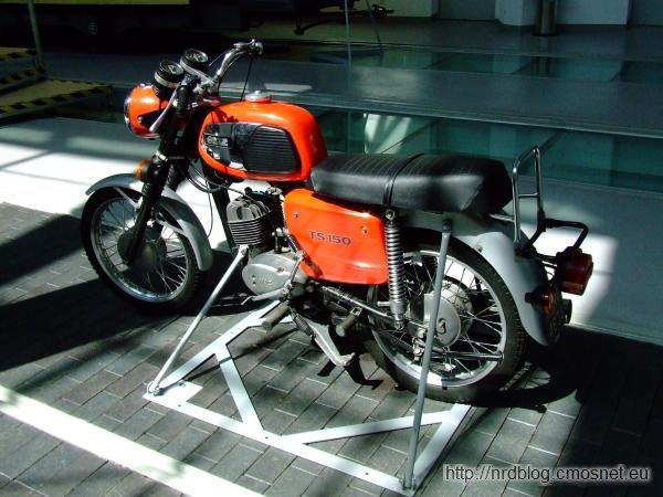 Motocykl MZ TS 150