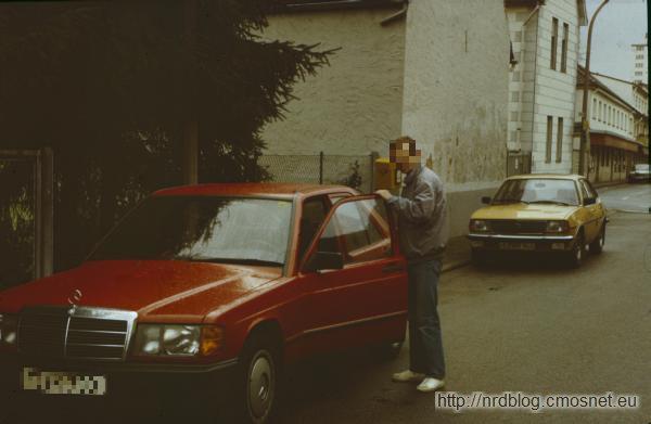 Mercedes 190 E (W201), Frankfurt, 1987