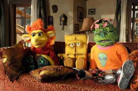 """Bernd das Brot, owca Chili i krzak Briegel Źródło: {a href=""""http://www.monstersandcritics.de""""}www.monstersandcritics.de{/a}"""