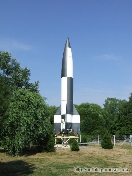 Peenemünde - rakieta A4 (V2)
