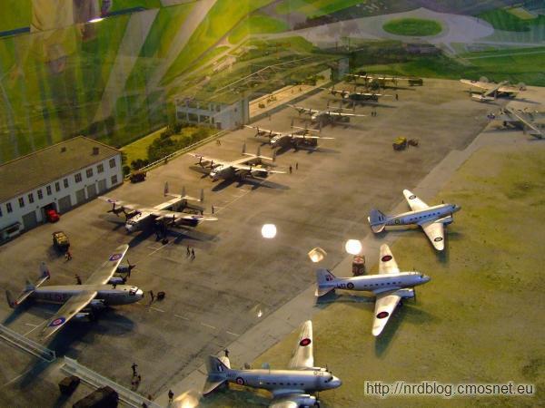 Militärhistorisches Museum Flugplatz Berlin-Gatow - Diorama Most Powietrzny