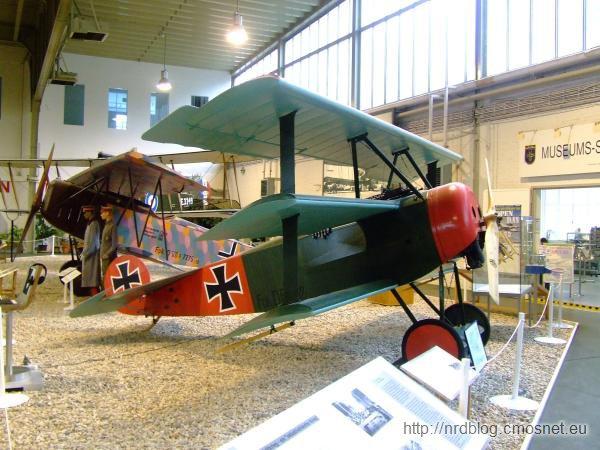 Militärhistorisches Museum Flugplatz Berlin-Gatow - Fokker Dr.1