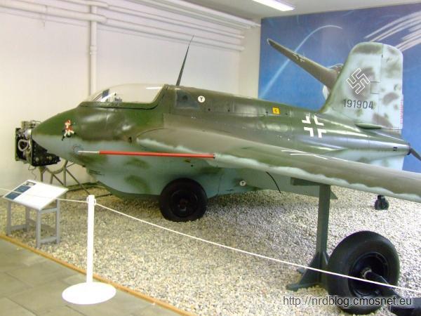 Militärhistorisches Museum Flugplatz Berlin-Gatow - Messerschmitt Me 163