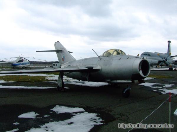 Militärhistorisches Museum Flugplatz Berlin-Gatow - MiG 15