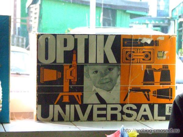 Optik Universal - pudełko