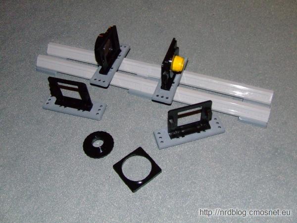 Optik-Montage-Experiment - ława optyczna