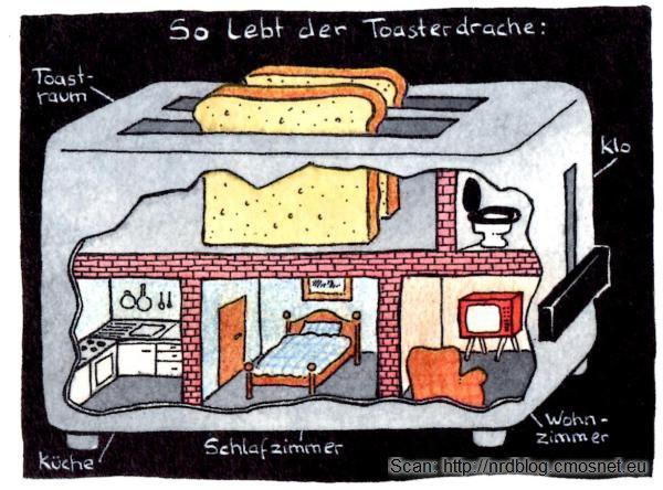 Walter Moers - Die Schimauski Methode - tak mieszka smok tosterowy