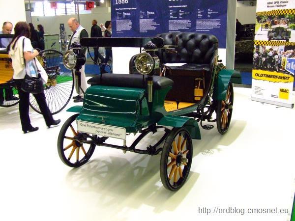 """Opel Patentmotorwagen """"System Lutzmann"""""""