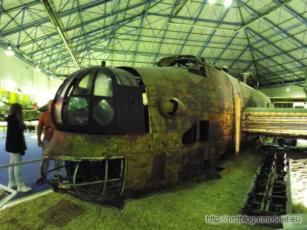 R.A.F. Museum, London - Handley Page Halifax