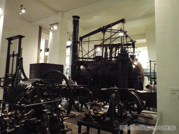 Science Museum London - Puffing Billy