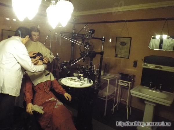 Science Museum London - dawny gabinet dentystyczny