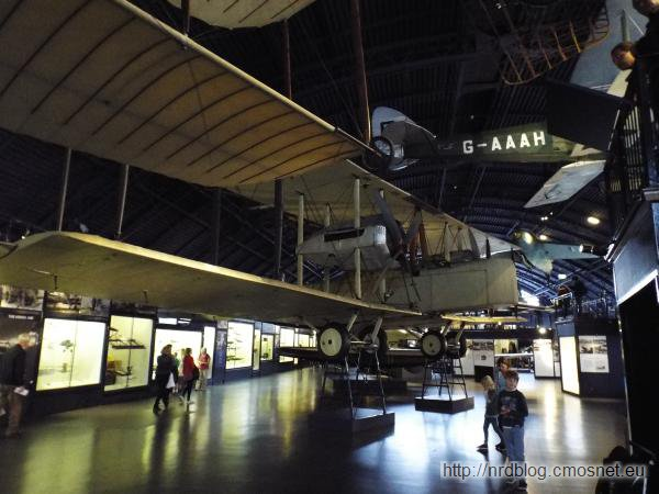 Science Museum London - Vickers Vimy