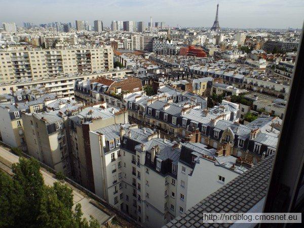 Paryż,widok z okna