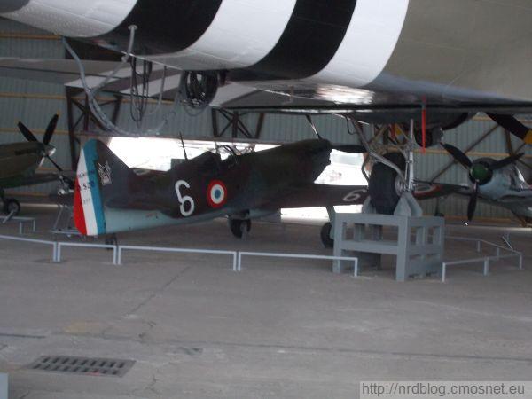 Musée de l'air et de l'espace, Le Bourget - Dewoitine D.420