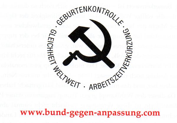 Bund gegen Anpassung - logo