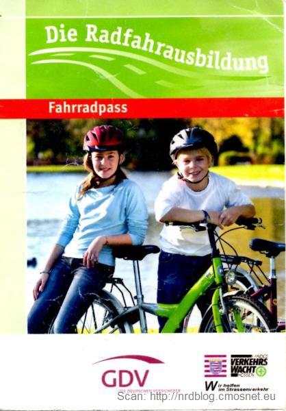 Karta rowerowa, Niemcy