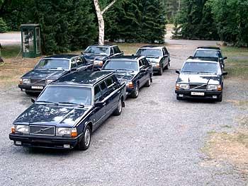 Volvo dygnitarzy z NRD