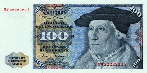 Banknot 100 DM