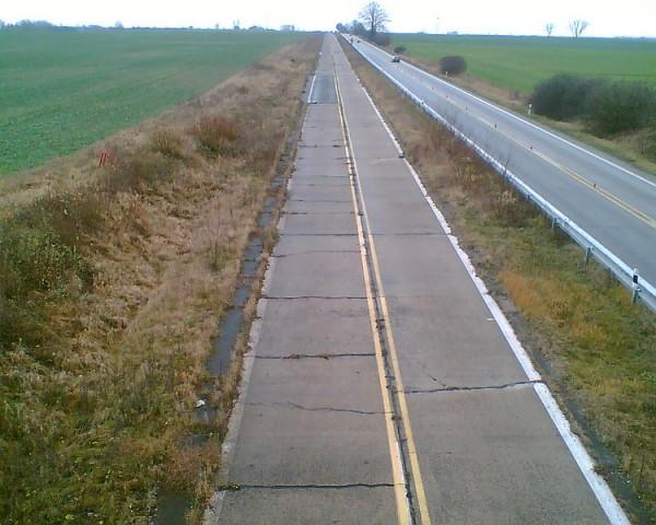 Autostrada A11 10 kilometrów od granicy