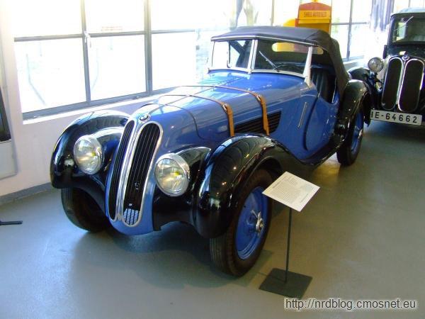 BMW 328 produkowany w Eisenach, 1937-1939