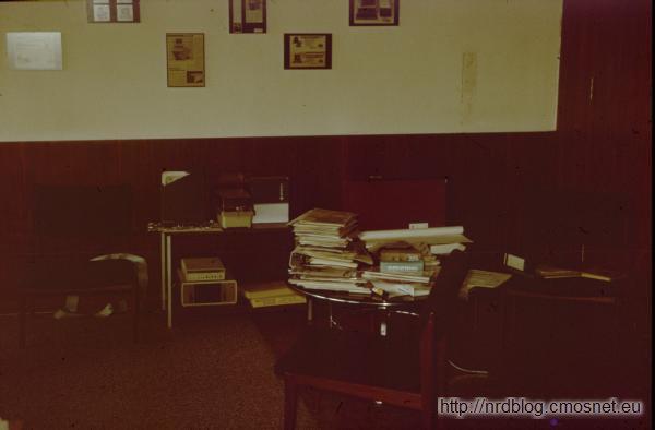 Biuro firmy we Frankfurcie, 1987