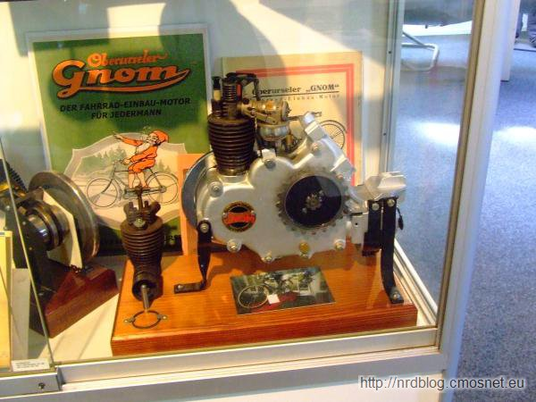Rolls-Royce Oberursel - Silnik do roweru GNOM
