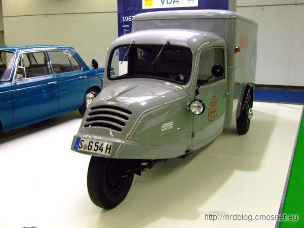 Goliath GD750, Niemcy, 1949-1955