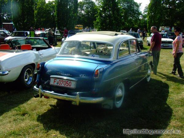 Goliath GP 1100 Luxus, Niemcy, 1957-1958