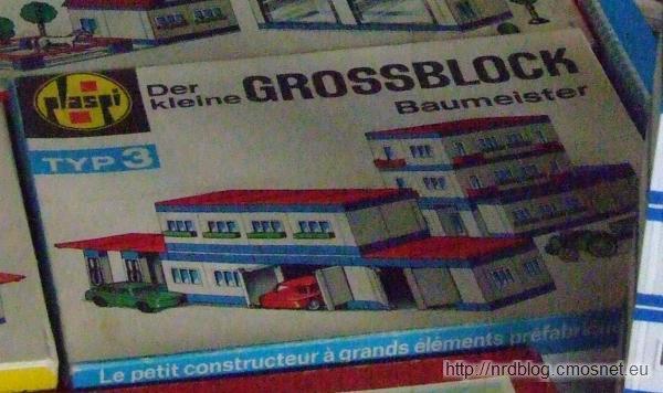 """Klocki """"Der kleine Großblockbaumeister"""" Typ 3, NRD"""