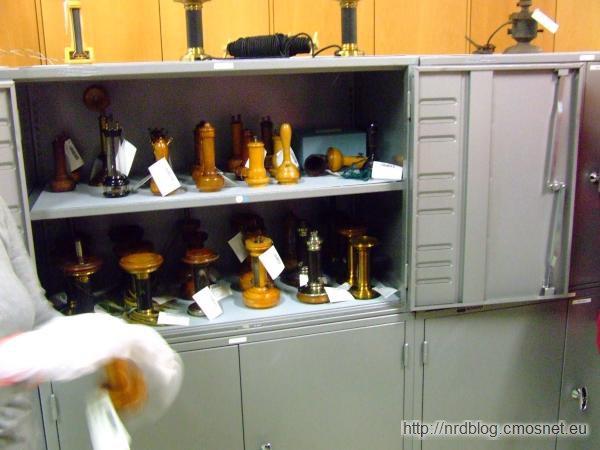 Muzeum poczty Heusenstamm - telefony systemu Bella