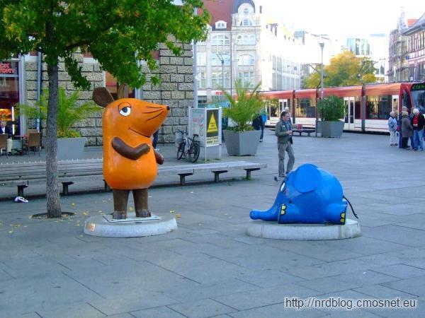 Myszka i słonik (Die Sendung mit der Maus), Erfurt, Niemcy