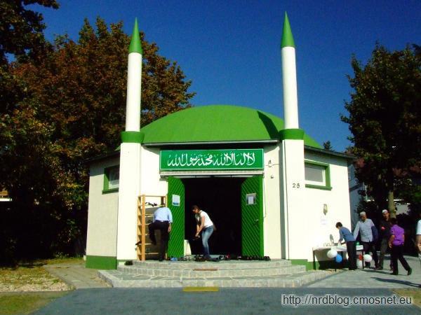 Dzień otwartych drzwi w meczecie, Frankfurt