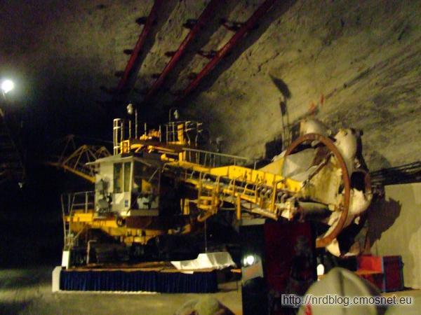 Kopalnia Merkers - największa na świecie koparka pod ziemią