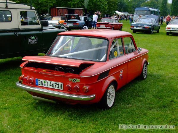 NSU 1000 TTS, Niemcy, 1967-1971