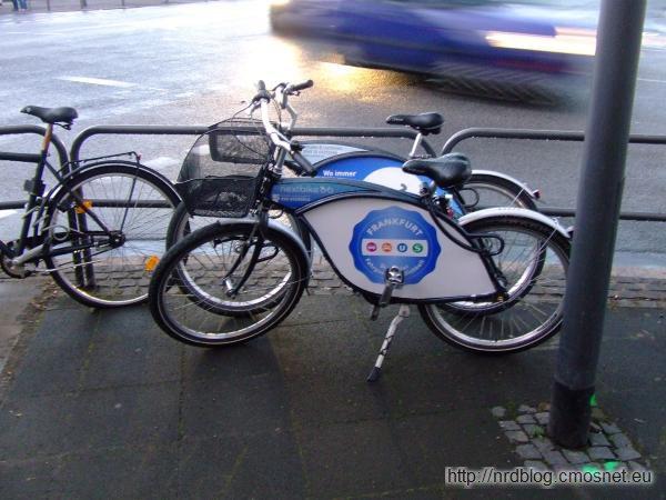 Rowery do wynajęcia NextBike, Frankfurt