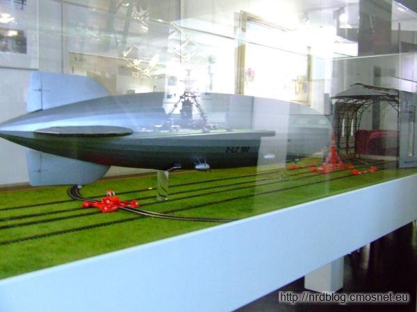 Model hangaru dla sterowców konstrukcji Dorniera