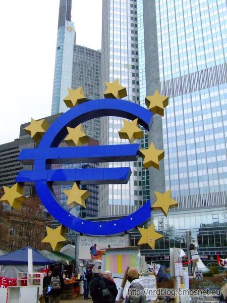 Europejski Bank Centralny Frankfurt - logo Euro